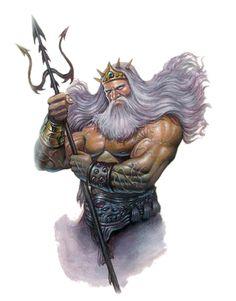 neptunus god tekening - Google zoeken