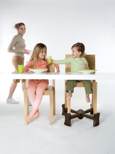 AmazonSmile : Kaboost Booster Seat for Dining, Chocolate - Goes Under the Chair - Portable Chair Booster for Toddlers : Chair Booster Seats : Baby