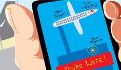 NO MORE CHECK-INS: Airline travel could be a smooth, almost seamless experience with the help of NFC technology.