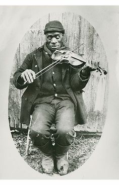 Joe Izzard (or Issert) was a well known Guysborough County fiddler in his day. His ancestors likely settled in Guysborough in 1784. Photo ca. 1900.   #africanheritagemonth #ahm #bhm #blackhistorymonth #novascotia #canada
