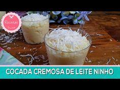 Receitas Tá na Hora | Cocada Cremosa de Leite Ninho e Leite Condensado.