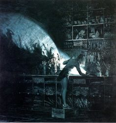 One of my favorite paintings! Love Mark Tansey
