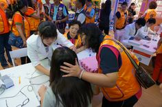 Tzu Tsai #LionsClub (Taiwan) provided vision screenings to school children