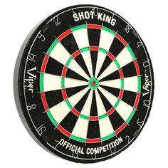 GLD Shot King Bristle Dart Board
