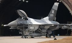 Kunsan Airmen paint first arctic F-16 for Eielson - F-16 Spotting & Photography