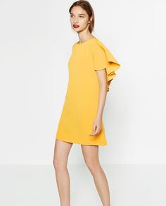 DRESS WITH FRILL AT THE BACK-View All-DRESSES-WOMAN | ZARA United States