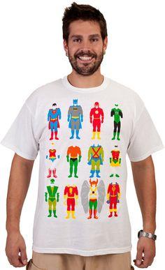 Uninforms DC Comics Shirt