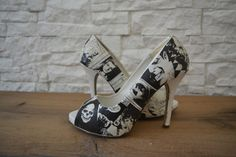 Comic Heels -Personalized Heels-Made to Order-Dylan Dog Custom Shoes (50.00 EUR) by IdidntDothat