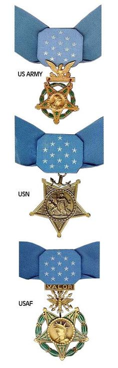 Picture of the Medal of Honor medal