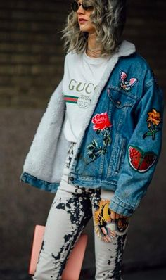 Shop now. Gucci T-shirt & Gucci Jeans. Street Style