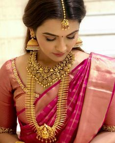 Wedding Rings For Bride Marriage Couple Receptions 47 Ideas For 2019 Jhumka Designs, Gold Earrings Designs, Necklace Designs, Gold Jewellery Design, Gold Jewelry, India Jewelry, Bridal Jewellery, Temple Jewellery, Antique Jewellery