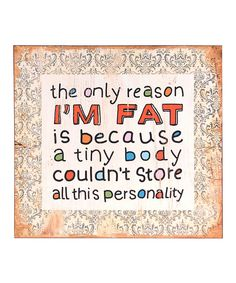 Look at this 'All This Personality' Wall Sign on #zulily today!