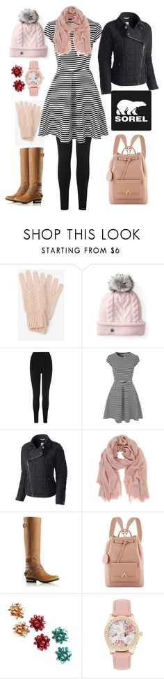 """""""Tame Winter with SOREL: Contest Entry"""" by faceless-girl ❤ liked on Polyvore featuring White House Black Market, Smartwool, SOREL, L.K.Bennett, Mint Velvet and sorelstyle"""