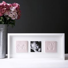 Baby Imprint Frame - N by Marie Ramos Photography