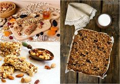 Domáce recepty: Zdravé müsli tyčinky