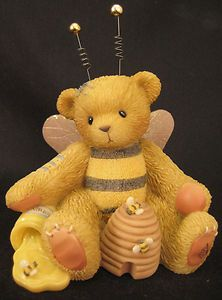 Cherished Teddies Bear Beatrice Honey You're The Sweetest Bumble Bee 786837 MIB