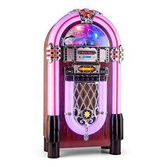 quality design 54522 8cc39 auna Graceland XXL BT Jukebox Bluetooth USB SD AUX CD FMAM