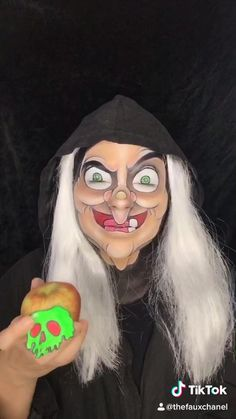 TheFauxChanel( has created a short video on TikTok with music bad guy (with Justin Bieber). I'm the bad guy. Disney Character Makeup, Disney Villains Makeup, Disney Makeup, Disney Villain Costumes, Cosplay Makeup, Costume Makeup, Witch Face Paint, Evil Queen Makeup, Snow White Makeup