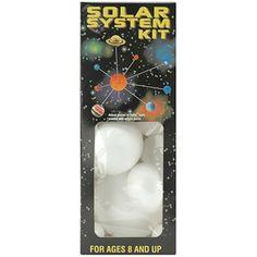 Styrofoam Solar System Kit, White $8.37 at Walmart