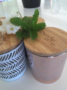 These candle jars are the perfect bud for your homemade soy candles.