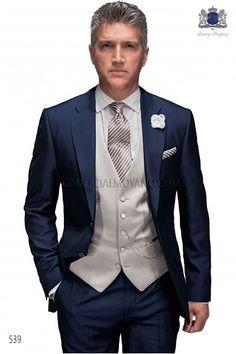 italian midnight blue wedding suit