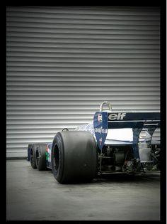 The Tyrrell P34 six-wheeler