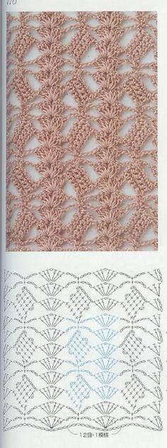 Schéma ou diagramme pour crochet Modèle de points divers: