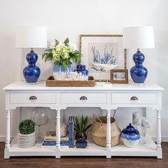 Organização mais linda e harmônica #organizesemfrescuras #blue #decor #decoração #pinterest