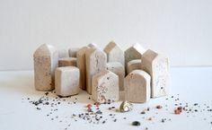 Medieval City Architectural Abstract Sculptures by AlpenArtStudio, $74.99