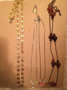 ****Lot of Four MUST SEE necklaces! ****