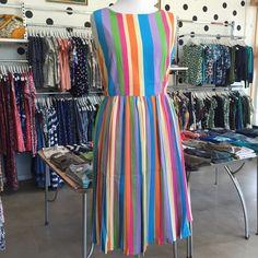 Fever Candy Stripe Dress
