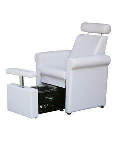 The Mona Lisa Pedicure Chair is practical, comfortable and most importantly - PLUMB-FREE! This spa pedicure chair is great for small spaces as the footbath can be tucked underneath the seat and serve double duty as a reception chair or dryer chair. Home Nail Salon, Nail Salon Decor, Hair Salon Interior, Beauty Salon Decor, Beauty Bar, Interior Design Dubai, Interior Design Pictures, Interior Design Books, Interior Design Software