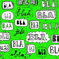 I don't like too much bla bla ;-) #typography #lettering #drawing #handlettering #paperfuel