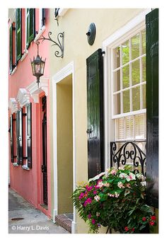 Charleston, SC... even though I've already been there, I want to go back because it's just so charming
