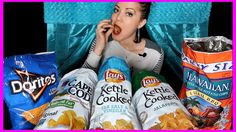 Trisha Paytas Favorite Chips 😍 ASMR/MUKBANG