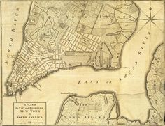 By 1776, it had expanded slightly further up the island. | 27 Maps Showing How NYC Evolved