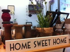 Letrero de madera HOME SWEET HOME #maowdesign