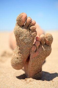 sand on feet - Bing Imágenes