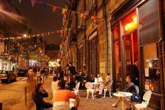 Galerias de Paris - Rua Cândido Reis  Oporto by night