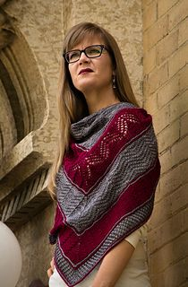 Travelling Landscapes Shawl by Sarah Schira