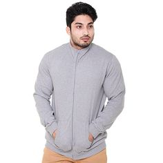 Buy EASY 2 WEAR ® Mens Jackets (Size S to 5XL) (Small)(Lt Grey) at Amazon.in