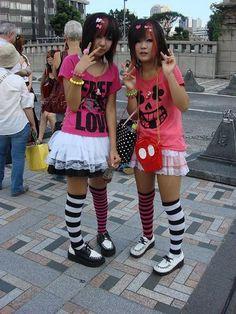 Harajuku street fashion | ...:::: さくや::::.... Bienvenid  #couples