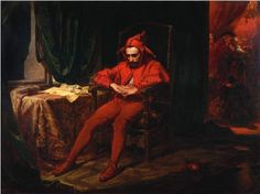 Jan Matejko, Stańczyk, oil on canvass, 88 × 120 cm, courtesy of the National Museum in Warsaw