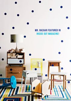 Mr. Bazaar Featured In Inside Out Magazine