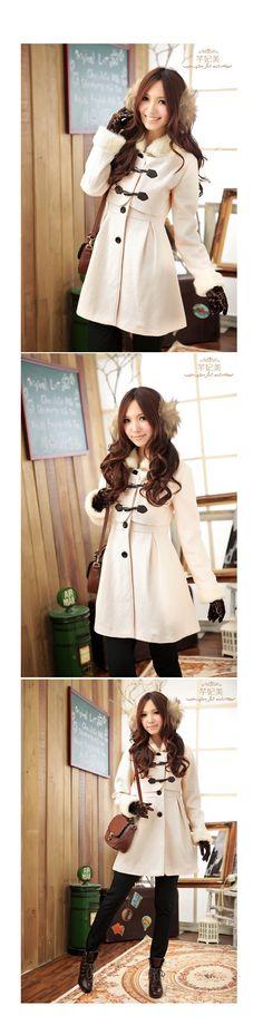 2011 Winter Fashion Collection Outwear QT98097 - Outerwear - korean japan fashion clothes dresses wholesale women
