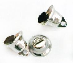 Nickel Bells for R15/250 bells per pack.  We have this product avalable in Gold as well | Paradise Creative Crafts cc