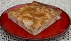 Quark cake without bottom mi Baked Apple Dessert, Apple Dessert Recipes, Baking Recipes, Pie Bakery, Bakery Cafe, Calories In Vegetables, Finger Food