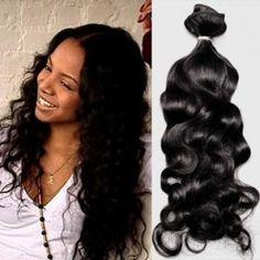 24 Inches Virgin Peruvian Hair (Body Wave)