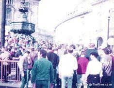 Retro Galleries – Old School Hooligan Pics Football Hooliganism, British Football, Football Casuals, School Football, European Countries, Galleries, Old School, Dolores Park, Retro