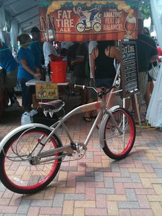 Fat Tire Bike at the Festival!